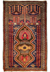 "2'8"" x 4'8"" Persian Vintage Baluch Rug"