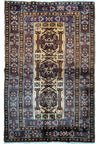 "3'9"" x 6'2"" Persian Baluch Tribal Rug"