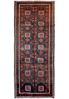 "3'8"" x 9'4"" Persian Baluch Tribal Runner Rug"