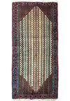 3 x 6'3 Persian Songhor Runner Rug
