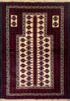 3 x 5 Persian Baluch Tribal Rug - Rugs.net