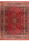 "Persian Mashad Rug 9'91"" x 13'19"" with signature of the master weaver - Rugs.net"