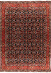 "Persian Bijar Rug 6""66"" x 10'01"" All Over Design - Rugs.net"