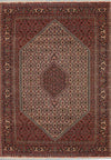 "6'6"" x 9'7"" Persian Bijar Mahi Design - Rugs.net"