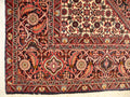 "6'3"" x 6'4"" Persian Bijar Squar-ish Rug Fish Design - Rugs.net"