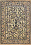 Persian Nain 9 LAA 6'43x9'78 silk on wool - Rugs.net