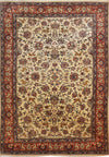 7 x 10'5 Persian Mahallat Rug All-Over Design