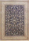 7 x 10 Persian Nain 9 LAA Wool & Silk Rug