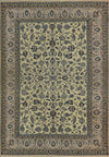 7 x 10 All-Over Design Persian Nain 9LAA Wool & Silk Rug