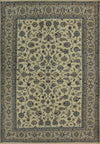 7x10 Persian Nain 9 LAA Wool & Silk All-Over Design