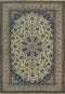6'6 x 10'3 Persian Nain 9 LAA Wool & Silk Garden Design Rug