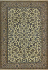 7 x 10 Persian Nain 9 LAA Garden All-Over Ivory Design Rug