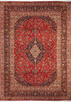 10 x 13 Persian Kashan Rug | Known from TV show Shark Tank | Special Signature