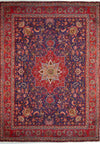 10 x 13'6 Persian Kashan Rug Star Medallion
