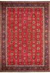 10 x 14 Persian Tabriz Rug | All Over Design