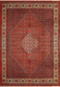 8'2 x 11'4 Persian Bijar Rug | High End | A Rug for a Lifetime