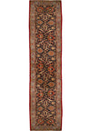 2'5 x 13 Persian Kashan Runner All-Over Design | Very Rare