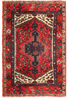 3 x 5 Persian Hamedan Tribal Rug
