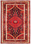 4 x 6 Persian Hamedan Tribal Rug