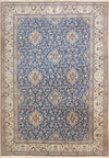 7 x 10 Persian Nain 9 LAA Wool with Silk Rug