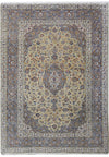 8 x 10 Persian Kashan Signed Rug