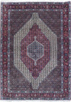 4 x 6 Persian Senneh Rug | Kurdish Tribal Style