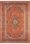 "9'4"" x 13'2"" Persian Kashan Rug 
