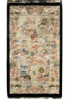 "2'3"" x 4'4"" Antique Oriental Art Deco Rug"