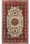3'4 x 5'4 Persian Isfahan Wool & Silk Rug