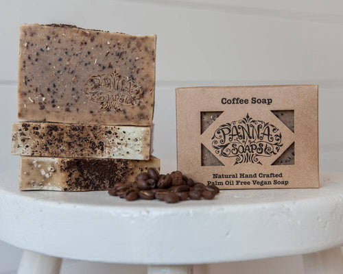 Hand Crafted Soap - Coffee
