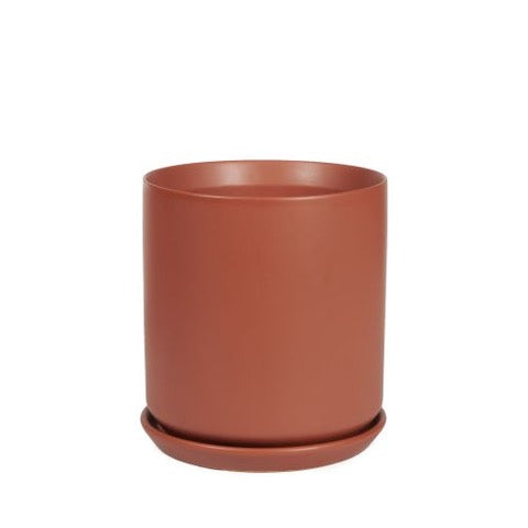 Cylinder Pot - Desert Red