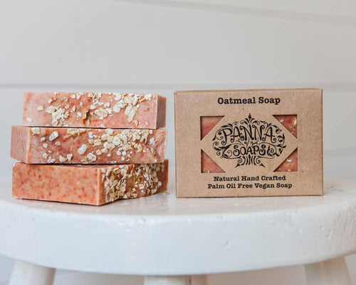 Hand Crafted Soap - Oatmeal