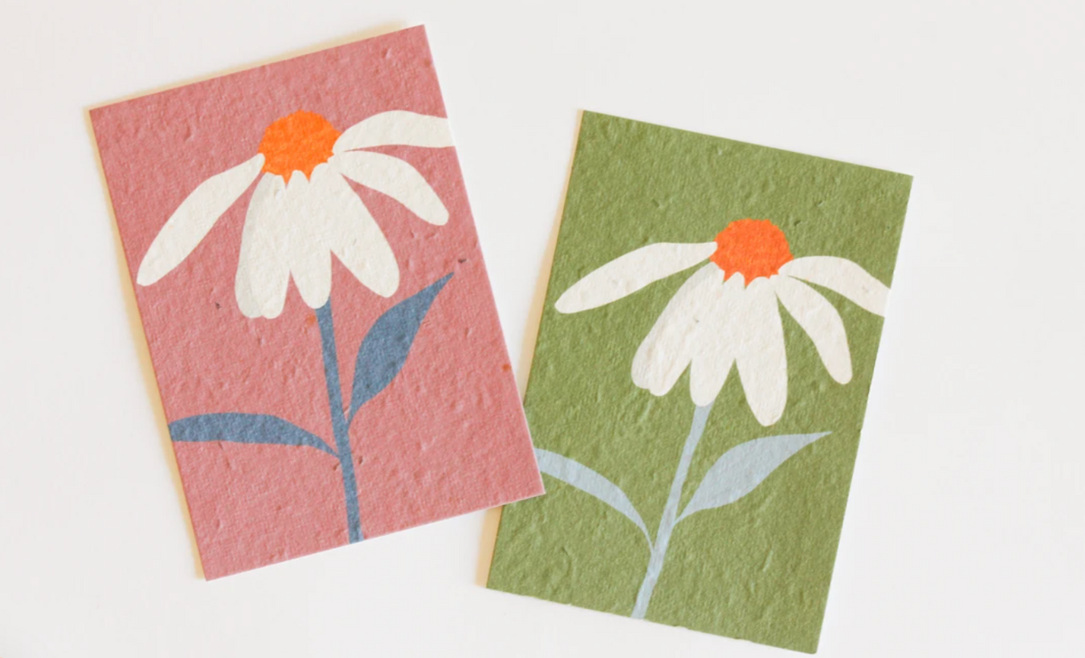 Hey Flower Blooming Gift Tag