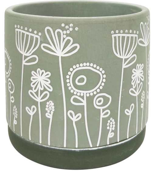 Bree Planter Small - Green