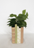 Aspen Book Planter Pink Green and Sand