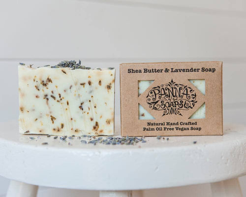 Hand Crafted Soap - Shea Butter & Lavender