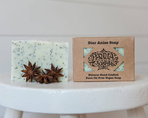 Hand Crafted Soap - Star Anise