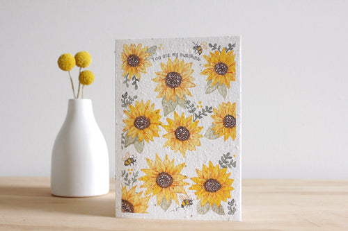 You are my Sunshine Blooming Card