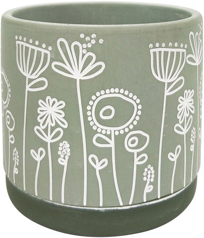 Bree Planter - Green/Medium