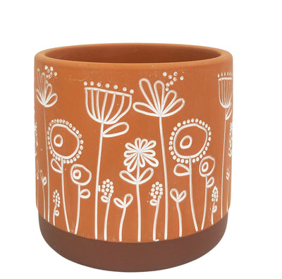 Bree Planter - Terracotta/Small