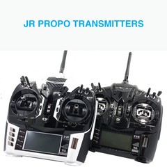 JR PROPO Transmitters 2.4 GHz RC RX