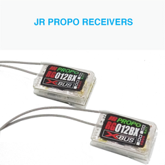 JR PROPO Receivers 2.4 GHz RC RX X-Bus