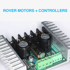 Rover and Robot Motors and Controllers