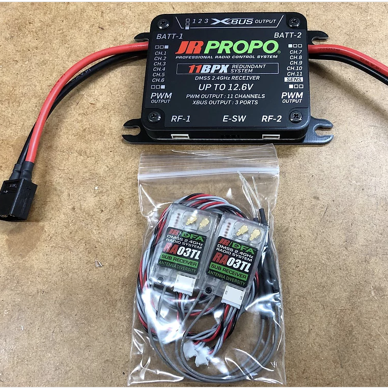 JR 11BPX-Hybrid Power Hub