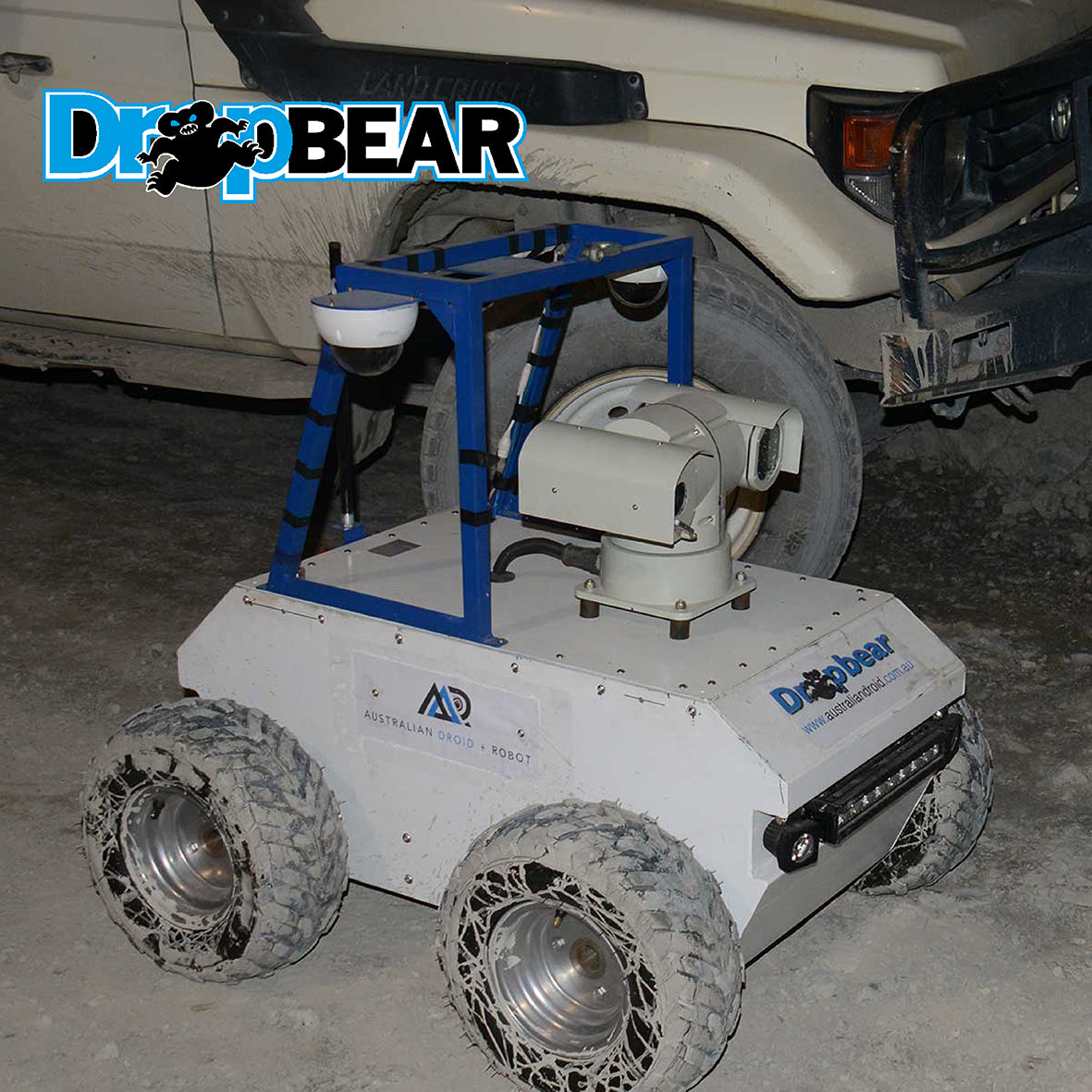 Dropbear Mine Inspection Robot