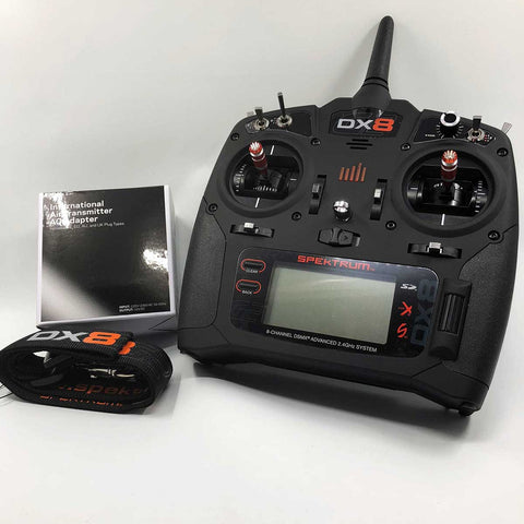 Spektrum DX8 G2  Transmitter, Mode 1
