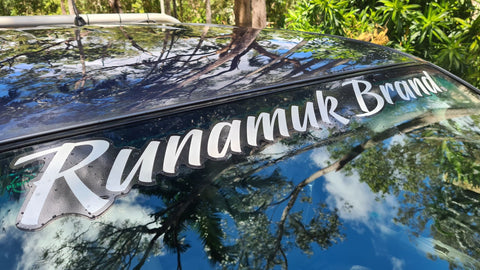 Runamuk Brand Slick Sticker