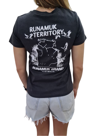 Womens Runamuk Territory Game Hunting Tee