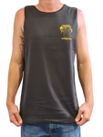 Mens Runamuk Territory Game Fish Singlet