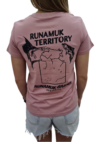 Womens Runamuk Territory Game Fishing Tee